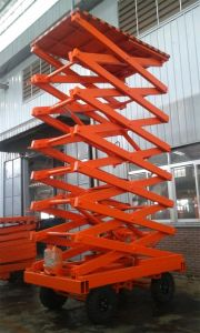 500kgs Lift 14 Meters High-Raised Lift Table pictures & photos