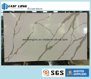 Calacatta Quartz Slab for Solid Surface/ Table Top/ Building Material pictures & photos