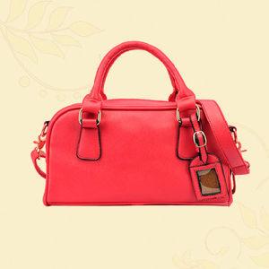 Genuine Leather High Quality Ladies Handbag (MD25561)