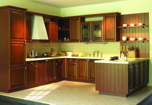 Hard Maple Solid Wooden Kitchen Furniture pictures & photos