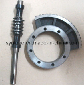 Customized Precision Machining Worm Gear and Shaft pictures & photos