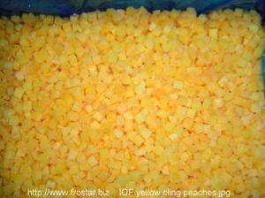 IQF Diced Peach