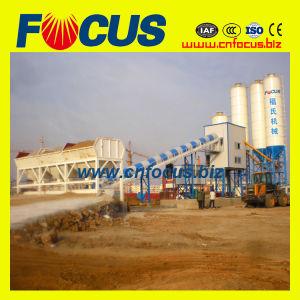 Hzs60 60cbm/H Wet Mix Stationary Concrete Batching Plant with Belt Conveyor pictures & photos