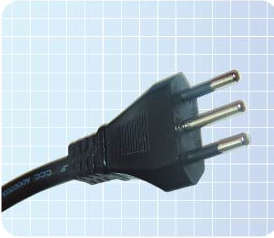 Power Cord Plug with Imq Certificated (YS-26) pictures & photos