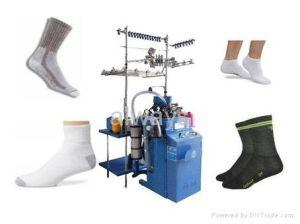Sock Knitting Machine - Fun video - YouTube