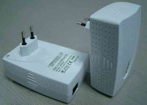 85Mbps Homeplug AV Adapter & CE/RoHS/FCC Certificated