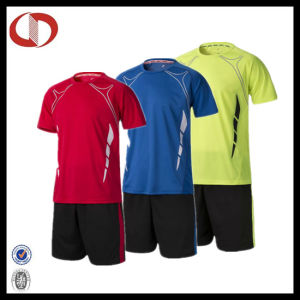 Three Colors Fashion Soccer Jerseys Uniform From China pictures & photos