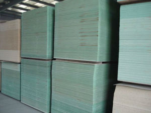 Hmr Green Moisture Resistant MDF pictures & photos