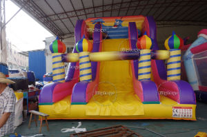 Lilytoys PVC Type Popular Arabia Inflatable Bouncer Slide Jumping Castle pictures & photos