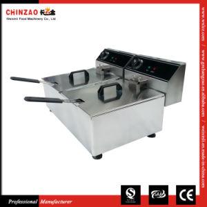 Commercial Dual Deep Fryer (DZL-20C) pictures & photos