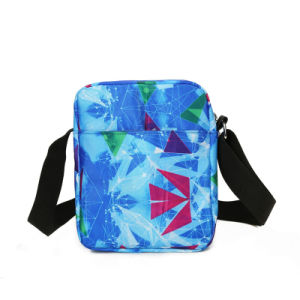 Fashion Teenagers Blue Polyester Travel Laptop Student School Backpack pictures & photos
