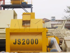 a Variety of Models of Twin Shaft Mixer Concrete Mixer pictures & photos