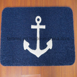 Anchor Logo Soft and Durable PVC Coil Entrance Door Mat pictures & photos