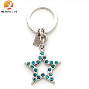 Zinc Alloy Gold Plated Brass Key Ring for Gifts (XY-mxl91006) pictures & photos