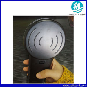 New Arrival Handheld 134.2kHz Microchip RFID Ear Tag Reader pictures & photos
