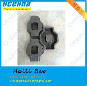 Interlocking Plastic Paver Concrete Hollow Blocks Molds Moulds for Pavement Tiles pictures & photos