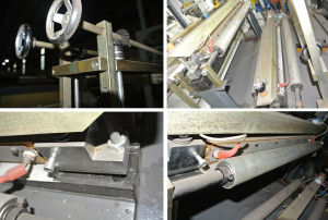 Four Line Auto Punching Bottom Sealing & Cutting Machine pictures & photos