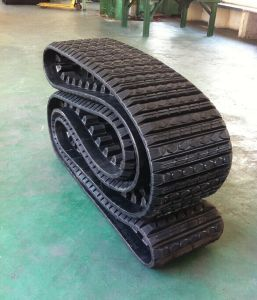 Rubber Tracks for Cat247 Compacted Loader pictures & photos