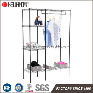 Adjustable Steel Bedroom Furniture Garment Closet Rack pictures & photos