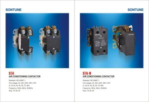 Air Conditioning Contactor Sta Series 1p 2p 3p pictures & photos