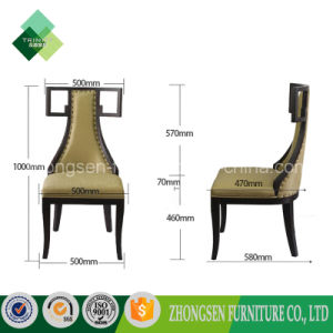 2017 Innovative Product Antique High Back Chair for Dining Room pictures & photos