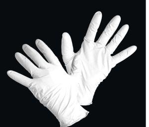 Disposable Nitrile Examination Gloves Power Free pictures & photos