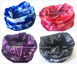 Factory Produce Customized Logo Print Polyester 25*50cm Multifunctional Bandana pictures & photos