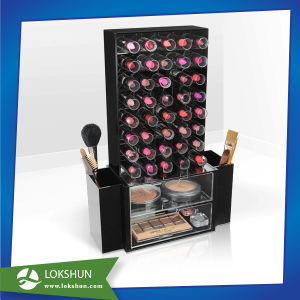 China Custom Rotary Acrylic Cosmetic Display Acrylic Make-up Organizers Acrylic Jewelry Display Manufacturer pictures & photos