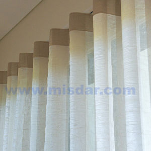 Remote Controlled Motorized Drapery Curtain for Window Covering pictures & photos