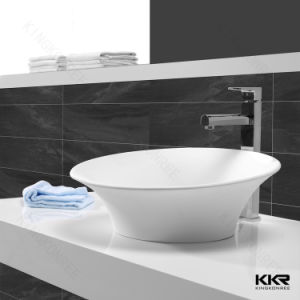 Solid Surface Bathroom Basin Countertop Stone Basin pictures & photos
