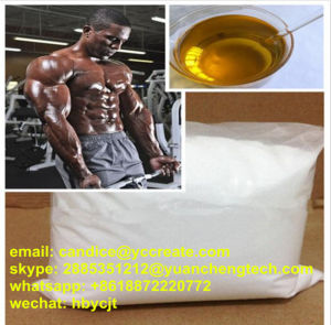 99.9% Anabolic Steroid Test E Powder Testosterone Enanthate CAS 315-37-7 pictures & photos