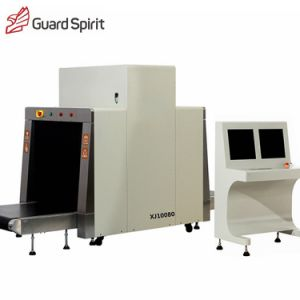 Medium Size Baggage Scanner Security X-ray Machine Xj10080 pictures & photos