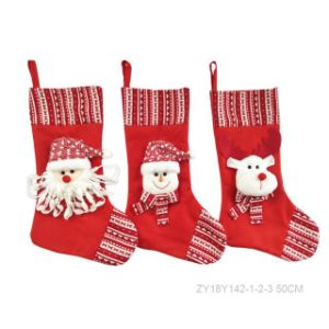Hot Perfect Santa Claus, Snowman, Reindeer Christmas Sock Store pictures & photos