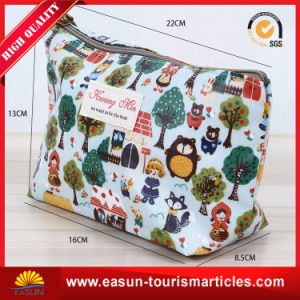 Promotional Custom Packaging Canvas Zipper Cosmetic Bags Wholesale pictures & photos