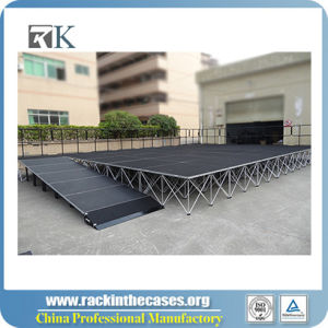 Hot Sale Portable Smart Stage with Stair for Outdoor Show pictures & photos