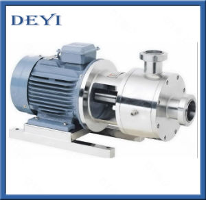 China Sanitary Self-Suction Self-Priming Homogenizer Pump pictures & photos
