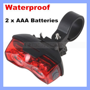 2 LED 3 Mode Rear Safety Warning Bike Tail Light pictures & photos