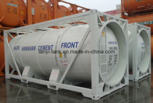 51000L 40FT 22 Bar Pressure Carbon Steel LPG Tank Container Approved by ASME U2 pictures & photos