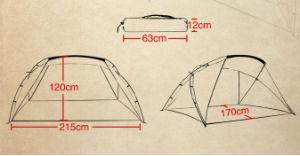 Carries Pop up Instant Beach Tent Lightweight Sun Shelter pictures & photos