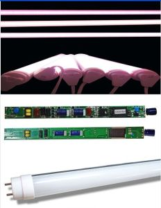 Ce RoHS 10W to 24W T8 LED Meat Tube for Supermarket pictures & photos