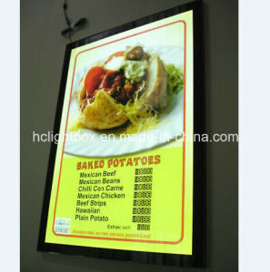 Restaurant Equipment Aluminum Frame Menu LED Light Box
