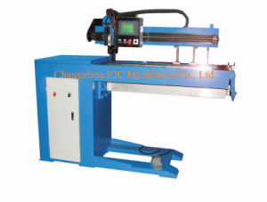 500mm Effictive Length Small Type MIG CNC Automatic Straight Seam Welding Machine pictures & photos