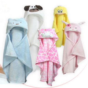 Eco-Friendly High Quality Hooded Baby Towel Cotton pictures & photos