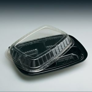 Take Away Disposable Plastic Food Container with Lid/ Microwe Bowl Containers
