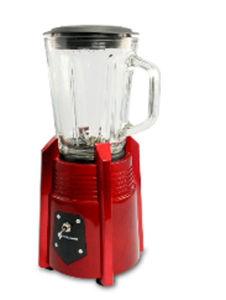 New Arrival! ! Red Painted 500W 1.25L Glass Jar Juicer Blender pictures & photos