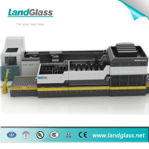 Landglass Building Glass Forced Convection Toughened Glass Making Machine pictures & photos