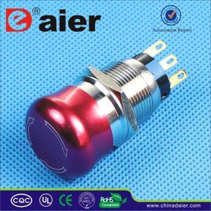 CE Waterproof Emergency Stop Murshroom Push Button Switch (LAS1-19B-11SR) pictures & photos
