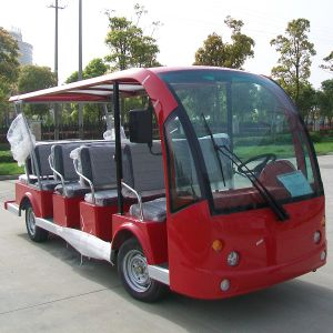 Open & Enclosed 14 Seater Electric Resort Bus with CE (DN-14) pictures & photos