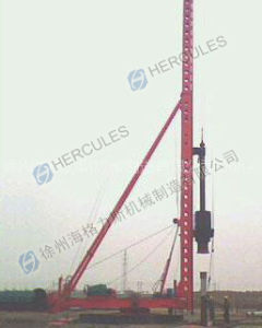 Foot-Step Diesel Hammer Pile Driver (DCB series) pictures & photos