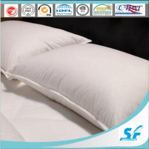 300tc White Jacquard Polyester Microfiber Pillow pictures & photos